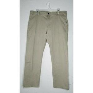 Dockers Straight Fit Khaki Tan Chino Pants 38x32